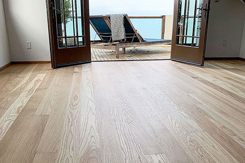 Malibu hardwood flooring project