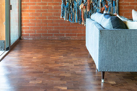 Rubio Monocoat wood floor in Pasadena
