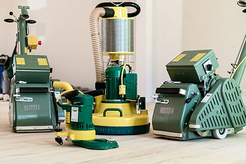 Hardwood Floor Sanding Equipment