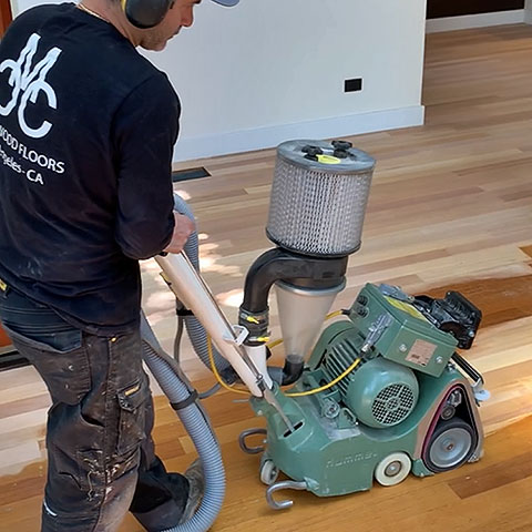 Los Angeles wood floor sanding